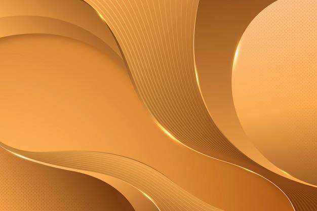 Zand gladde gouden golf achtergrond