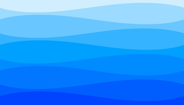 Zee golven rimpel stijl blauwe achtergrond