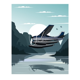 Zee vliegtuig