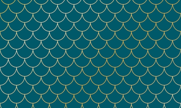 Zeemeermin gouden schalen. vis squama. schaalpatroon.