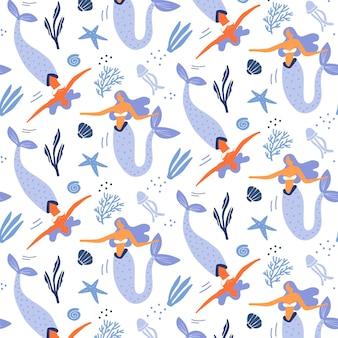 Zeemeermin patroon