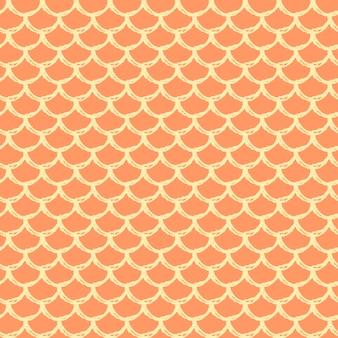 Zeemeermin schaal naadloze patroon.