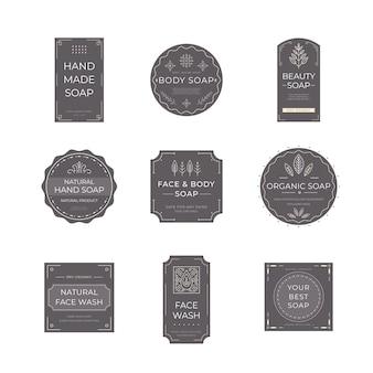 Zeep label collectie