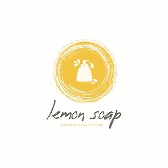 Zeep logo sjabloon