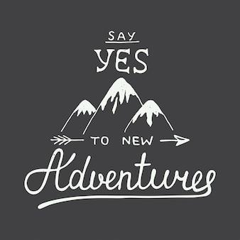 Zeg ja tegen nieuwe avonturen in vintage stijl