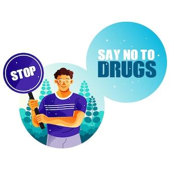 Zeg nee tegen drugs
