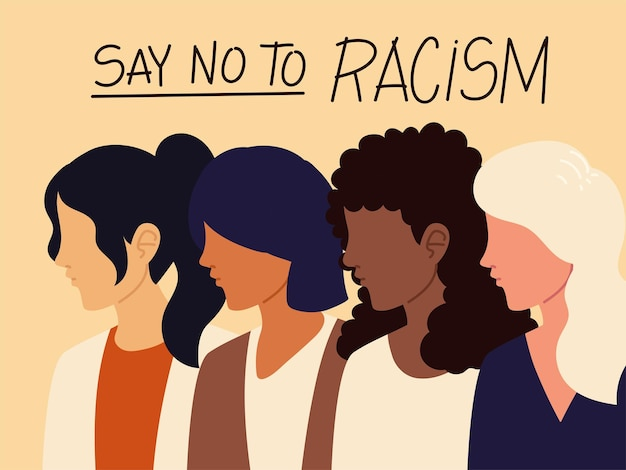 Zeg nee tegen racisme