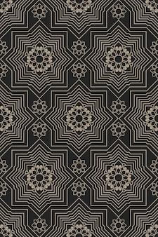 Zentangle stijl geometrisch patroon