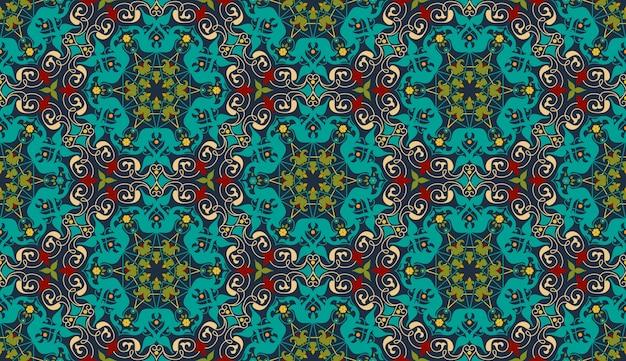 Zentangle stijl geometrische ornament patroon achtergrond