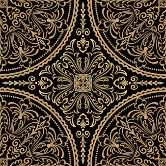 Zentangle stijl ornament patroon