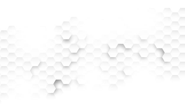 Zeshoek conceptontwerp abstracte technologie