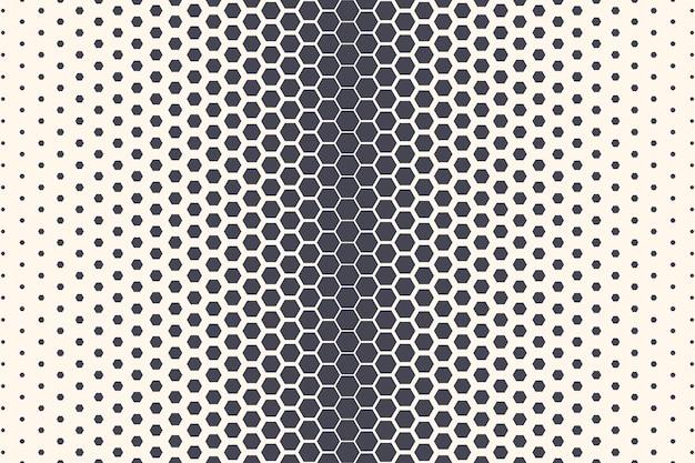 Zeshoek vormen patroon abstracte geometrische textuur abstracte achtergrond