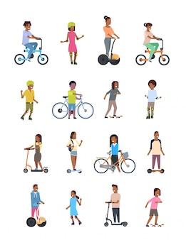 Zet verschillende sporten op wielen