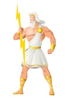 Zeus de vader van goden en mensen
