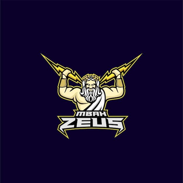 Zeus god sport logo