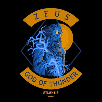 Zeus, god van de donder