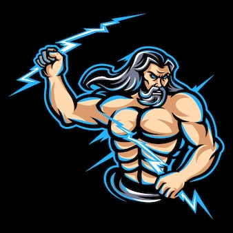Zeus-mascotte-logo