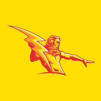 Zeus vectorillustratie
