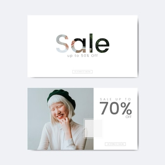 Zeventig procent korting op de verkoop