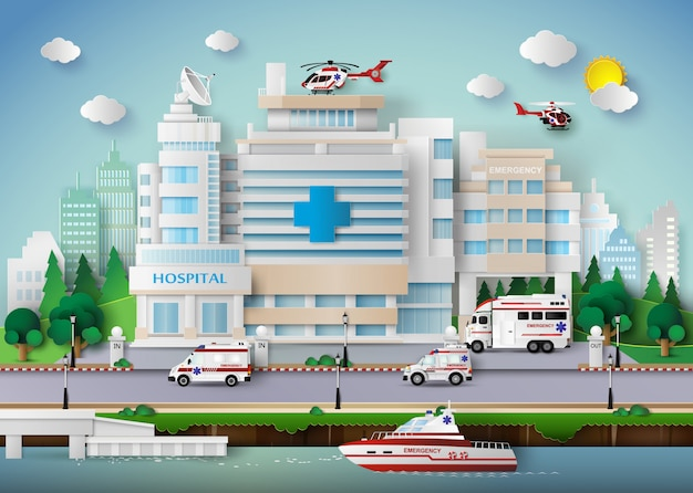 Ziekenhuis gebouw