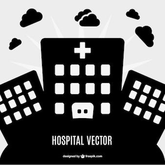 Ziekenhuis vectorsymbool