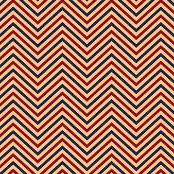 Zigzag patroon naadloze achtergrond.