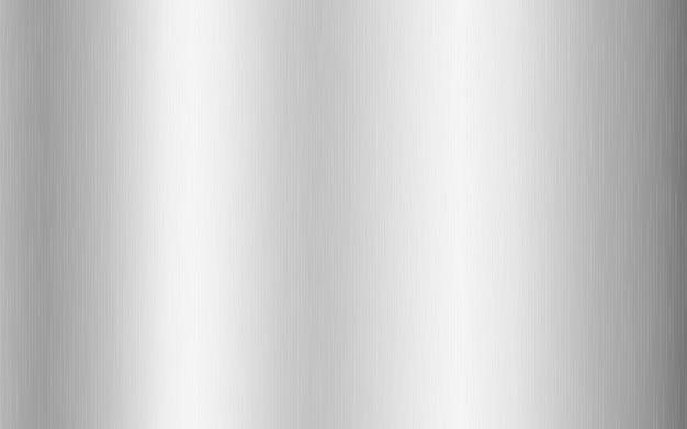 Zilver metallic verloop met krassen. titan, staal, chroom, nikkelfolie oppervlaktetextuureffect.