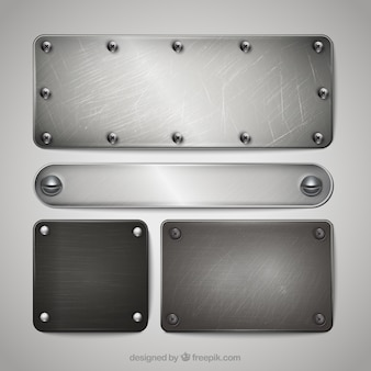 Zilver plaques collectie