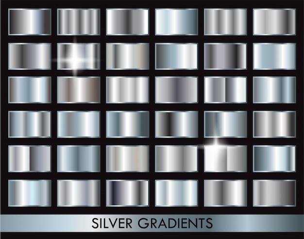 Zilveren gradiëntencollectie