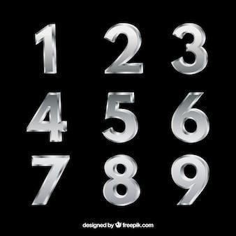 Zilveren nummerverzameling