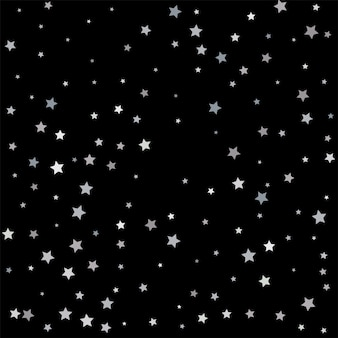 Zilveren sparkle ster. sterrenconfetti