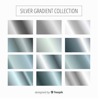 Zilveren verloopcollectie