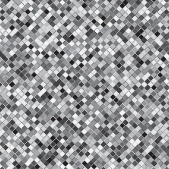 Zilveren vierkante halftone abstracte achtergrond