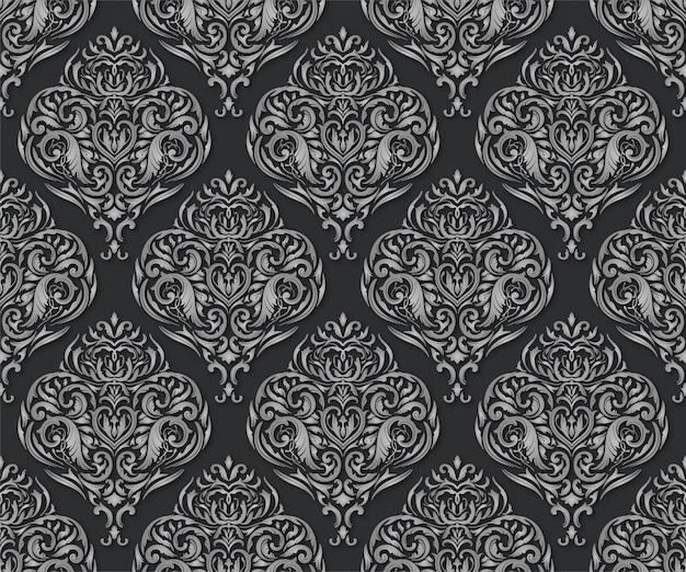 Zilvergrijs patroon