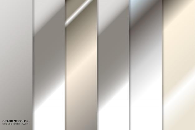Zilverkleurig kleurverzamelpakket