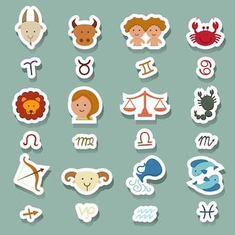 Zodiac pictogrammen