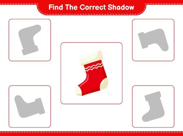 Zoek en match de juiste schaduw van sokken