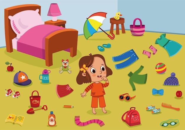 Zoek en omcirkel de educatieve spelpagina voor kinderen