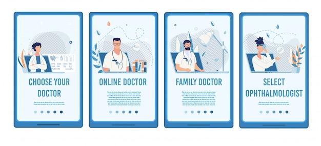 Zoek medisch specialist mobiele sociale media