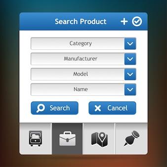Zoek product