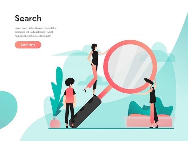 Zoek webbanner