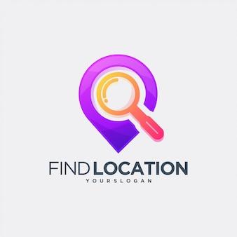 Zoeken vind locatie navigatie straat