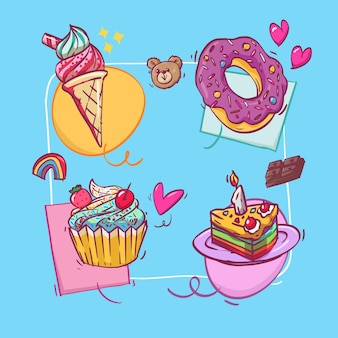 Zoete cake