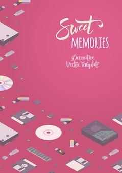 Zoete herinneringen versieren