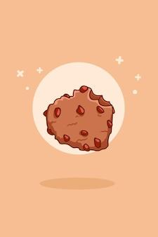 Zoete koekjes cartoon afbeelding