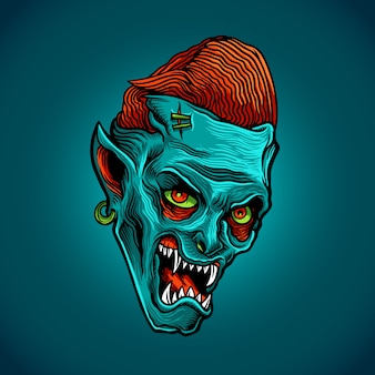 Zombie blue