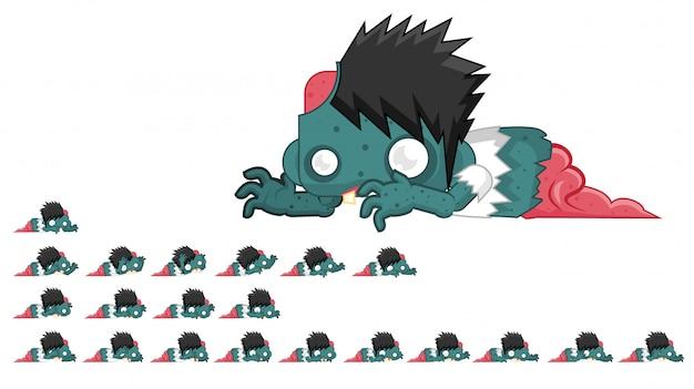 Zombie game sprite