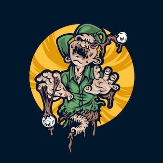 Zombie illustratie