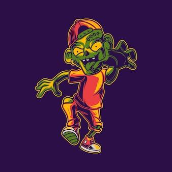 Zombie lopen bereikt iets