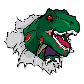 Zombie tyranosurus rex